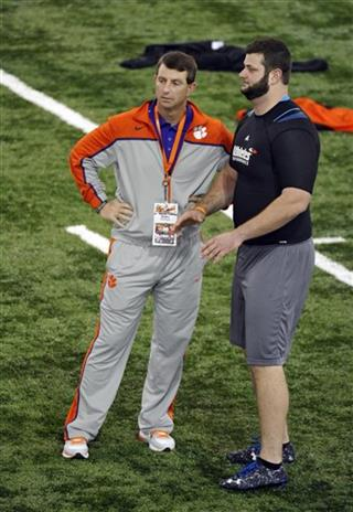 Dabo Swinney, Dalton Freeman