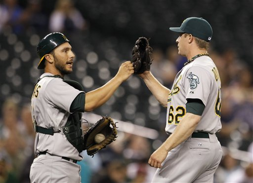Sean Doolittle, George Kottaras
