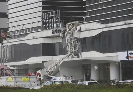 Emirates Crane Collapse