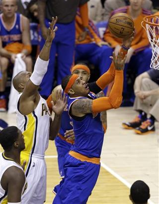 David West, Carmelo Anthony