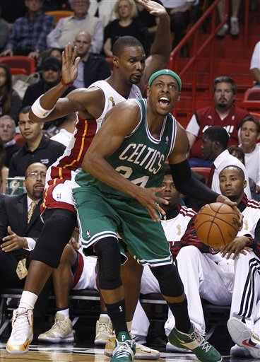 Chris Bosh, Paul Pierce