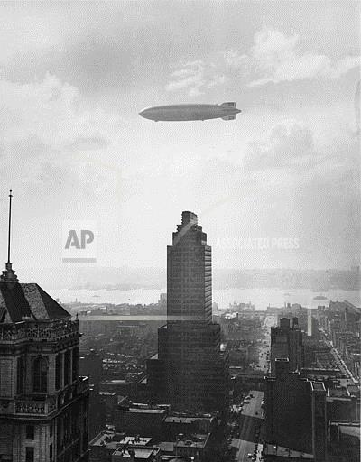 Associated Press Domestic News New York United States HINDENBURG OVER NEW YORK