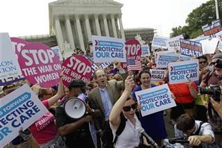 APTOPIX Supreme Court Health Care