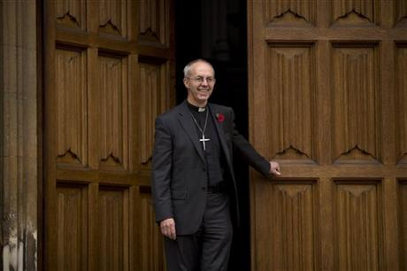 Britain Archbishop of Canterbury