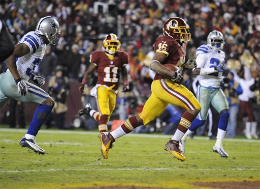 Alfred Morris, Brandon Carr