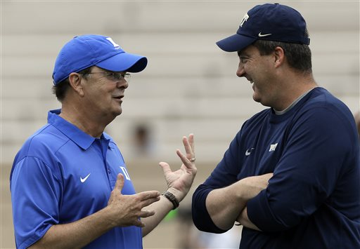 David Cutcliffe, Paul Chryst