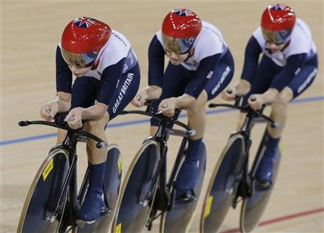 Joanna Rowsell, Laura Trott, Dani King
