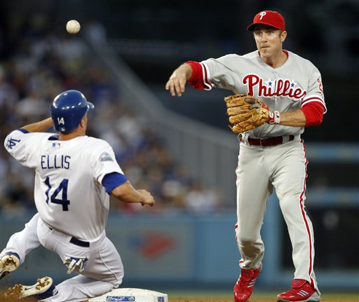 Chase Utley, Mark Ellis