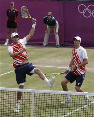 Bob Bryan, Mike Bryan, Richard Gasquet, Julien Benneteau