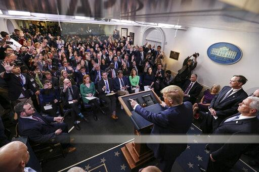 President Trump holds a news conference on coronavirus