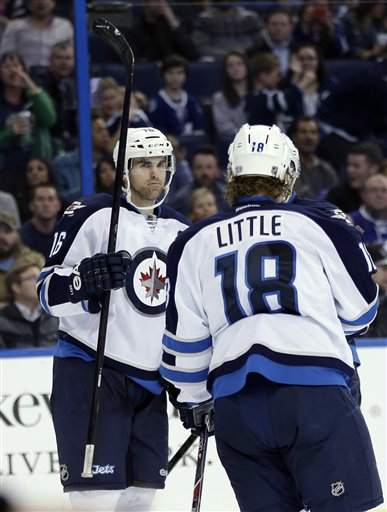 Andrew Ladd, Bryan Little