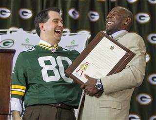 Donald Driver, Scott Walker