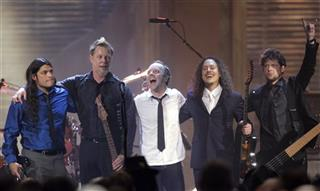 Robert Trujillo, James Hetfield, Lars Ulrich, Kirk Hammett,  Jason Newsted
