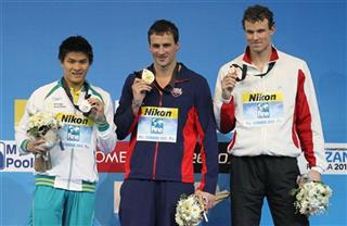 Ryan Lochte, Kenneth To, Peter Mankoc