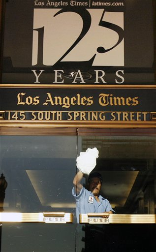 AP F CA USA Los Angeles Times Reorganization