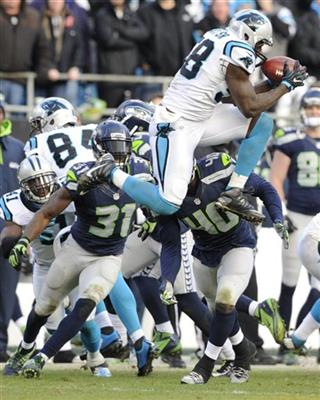 APTOPIX Seahawks Panthers Football