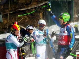 Ted Ligety, Marcel Hirscher, Davide Simoncelli