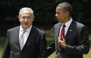 Benjamin Netanyahu, Barack Obama