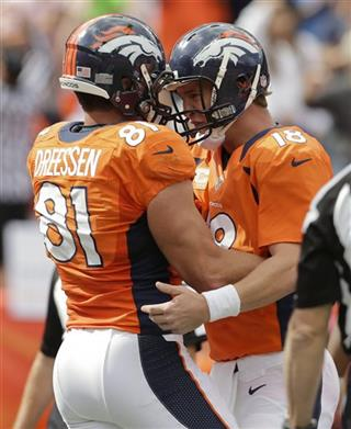 Peyton Manning, Joel Dreessen