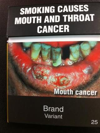 New Zealand Tobacco Packaging