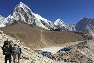 Travel Nepal Trekking to Everest