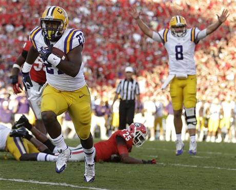 LSU Georgia Football