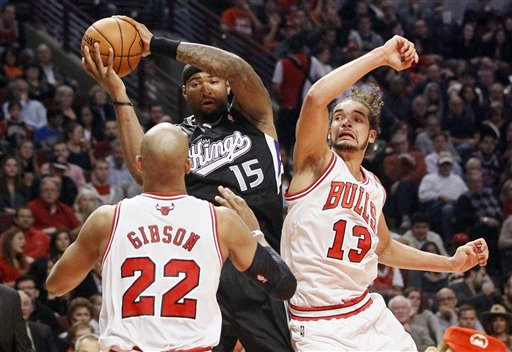 Taj Gibson, DeMarcus Cousins, Joakim Noah