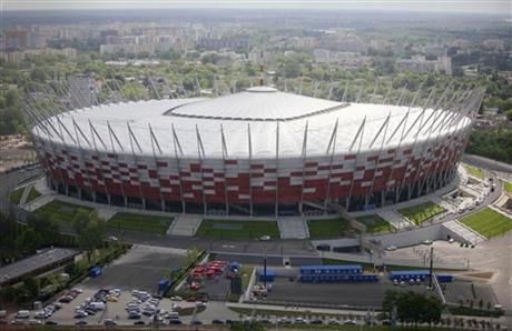 Poland Soccer Euro 2012 Threatened Neighborhood