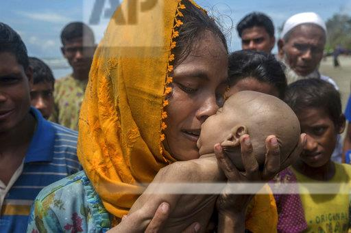 AP17332788043401 - Rohingya Muslim woman - World Daily News