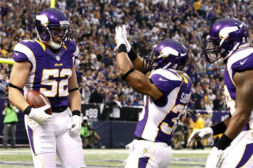 Chad Greenway, Jamarca Sanford