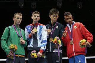 John Joe Nevin, Luke Campbell, Satoshi Shimizu Lazaro Alvarez Estrada