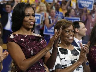 Michelle Obama,Marian Robinson