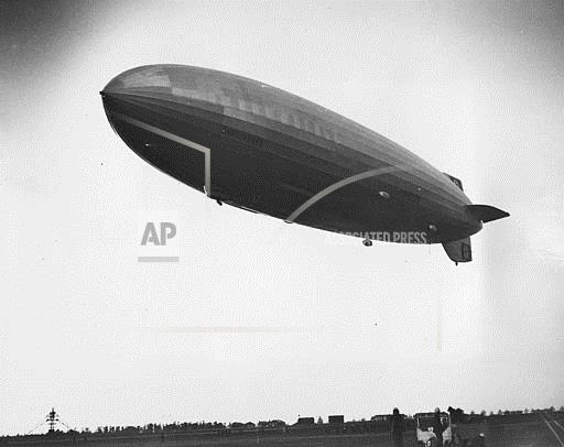 Associated Press Domestic News New Jersey United States HINDENBURG LANDING NEW JERSEY