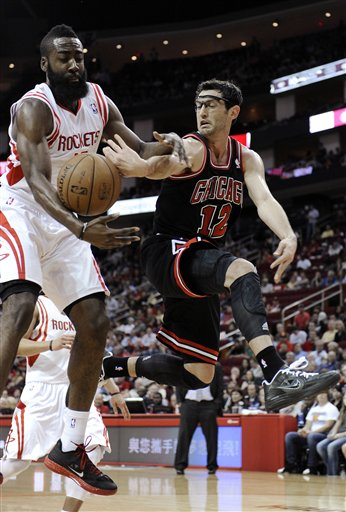 James Harden, Kirk Hinrich