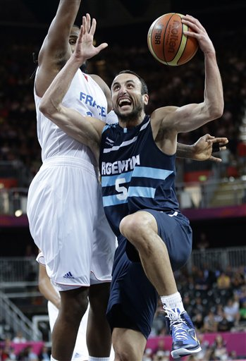 Ronny Turiaf,  Manu Ginobili