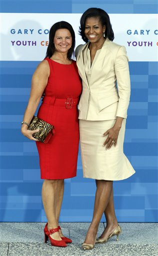 Michelle Obama, Anne-Mette Rasmussen