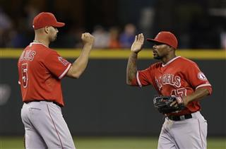 Albert Pujols, Chris Iannetta