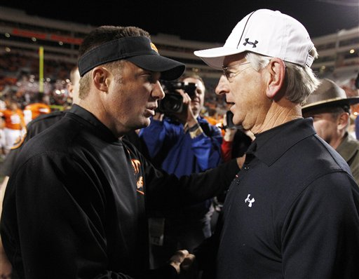 Mike Gundy, Tommy Tuberville