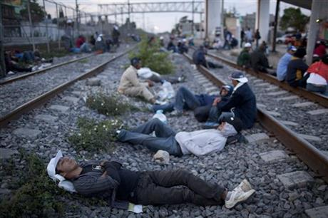 APTOPIX Mexico Central American Migrants