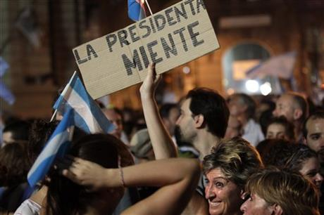 Argentina Anti Government March