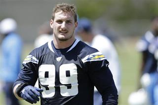 Chargers Bosa Contract Football