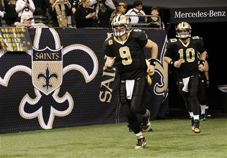 Drew Brees, Chase Daniel