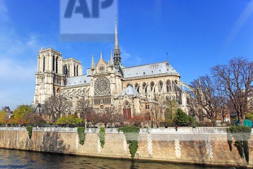 France, Paris, Ile de la Cite, Notre-Dame cathedral