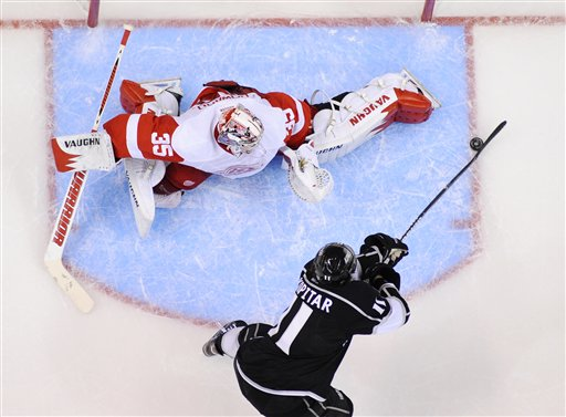 Anze Kopitar, Jimmy Howard