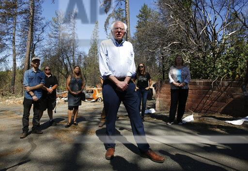 Election 2020 Sanders Climate