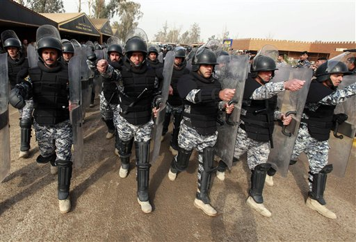 FILE PLEASE HOLD FORMideast Iraq Police Training