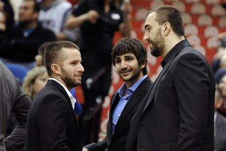 J.J. Barea, Ricky Rubio, Nikola Pekovic