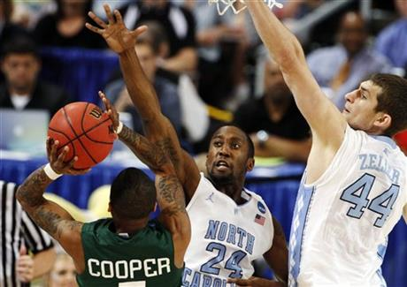Justin Watts, Tyler Zeller, D.J. Cooper