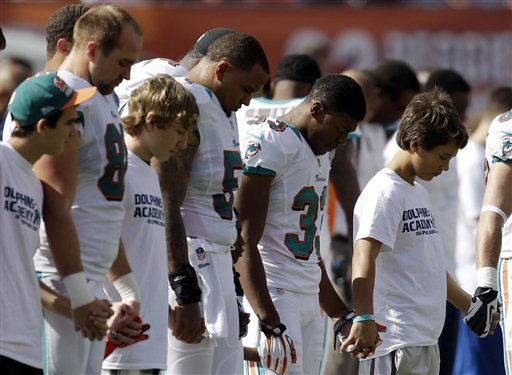 Jaguars Dolphins Football School Shooting