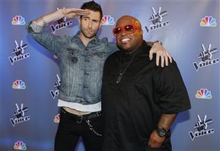 Adam Levine, Cee Lo Green